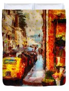 Rome Street Colors Duvet Cover