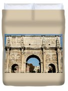 Rome - The Arch Of Constantine 3 Duvet Cover