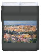 Rome View From Gianicolo Duvet Cover