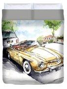 Rometsch-volkswagen Sports Duvet Cover
