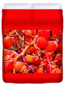 Romney Red Duvet Cover