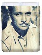 Ronald Colman, Hollywood Legend Duvet Cover
