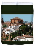 Ronda. Andalusia. Spain Duvet Cover by Jenny Rainbow