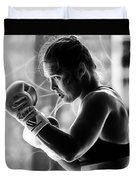 Ronda Rousey Fighter Duvet Cover