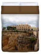 Ronda Spain- The Puente Nuevo Duvet Cover