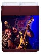 Ronnie Romero 3 Duvet Cover
