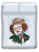 Ronnie The Clown Duvet Cover