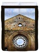 Roofless Church Abbazia Di San Galgano Duvet Cover