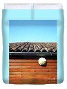 Roofline Ripples Duvet Cover by Rick Locke