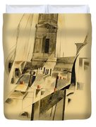 Roofs And Steeple Duvet Cover
