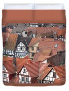 Roofs Of Bad Sooden-allendorf Duvet Cover by Heiko Koehrer-Wagner