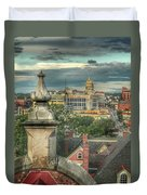 Rooftop View Duvet Cover