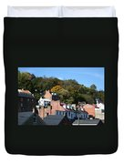 Rooftops Of Harpers Ferry Duvet Cover