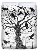 Rook Tree Duvet Cover
