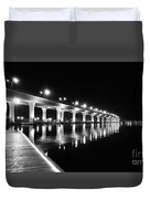 Roosevelt Bridge, Stuart Fl Duvet Cover