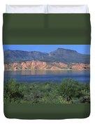 Roosevelt Lake - Panoramic Duvet Cover