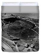 Vintage - Roosevelt Stadium Duvet Cover