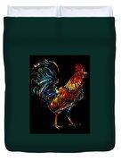 rooster  Gallo Giro Duvet Cover