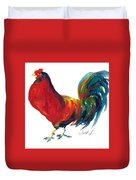 Rooster - Little Napoleon Duvet Cover