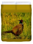 Rooster Pheasant Duvet Cover