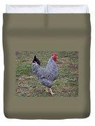 Rooster Strutting Duvet Cover