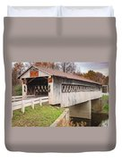 Root Rd Covered Bridge  Duvet Cover