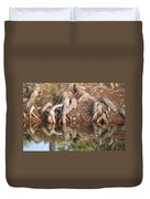 Rooted Reflections Duvet Cover