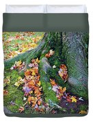 Roots And Leaves Duvet Cover
