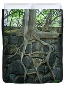 Roots And Rocks Duvet Cover