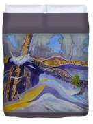 Roots Wide And Deep Duvet Cover