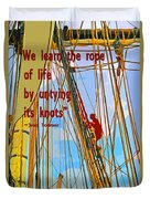 Rope Of Life Duvet Cover