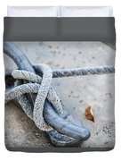 Rope On Cleat Duvet Cover