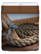 Eagle Shackle And Line Duvet Cover
