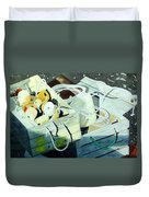 Ropes And Floats Duvet Cover