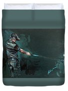 Rory Mcilroy Trick Shot 2010 Duvet Cover