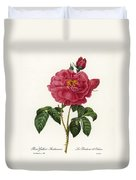 Rosa Gallica Duvet Cover