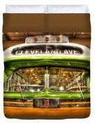 Rosa Parks Bus Dearborn Mi Duvet Cover