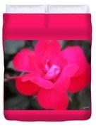 Rosa Roja Duvet Cover