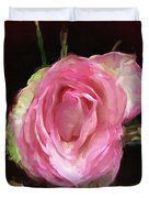 Rosa Rose Portrait Duvet Cover