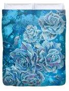 Rosa Stellarum Duvet Cover