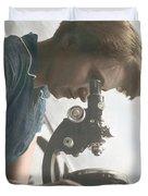Rosalind Franklin, Crystallographer Duvet Cover