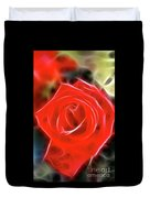 Rose-5827-fractal Duvet Cover