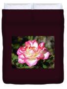 Rose Art Prints Pink White Roses Garden Baslee Troutman Duvet Cover