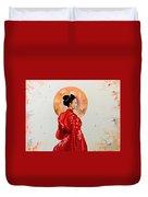 Rose Asia Duvet Cover