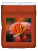 Rose Centerpiece Duvet Cover