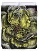 Rose Cream Duvet Cover