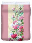 Rose Diptych 2  Duvet Cover