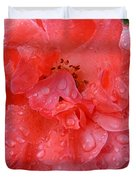 Rose Drops Duvet Cover