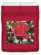 Rose Evening,oil Duvet Cover