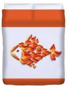 Rose Fish Duvet Cover